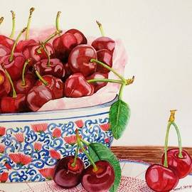 Sonali Sengupta - Cherries in my favorite bowl