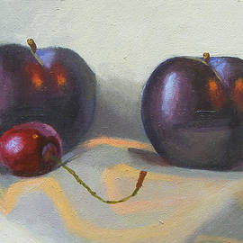 Peter Orrock - Cherry and plums