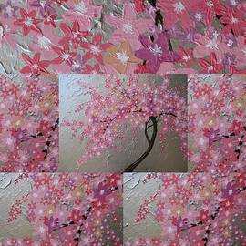 Cathy Jacobs - Cherry Blossom collage