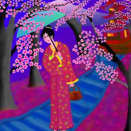 Latha Gokuldas Panicker - Cherry Blossoms