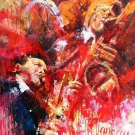 Massimo Chioccia and Olga Tsarkova - Chet Stan Getz Gerry Mulligan