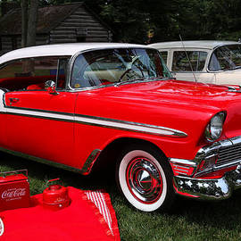 Rachel Cohen - Chevy Bel Air in Red