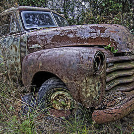 Andy Crawford - Chevy rust bucket
