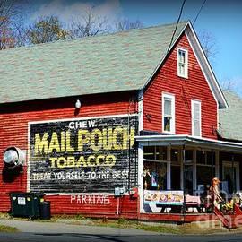 Paul Ward - Chew Mail Pouch Tobacco Ad