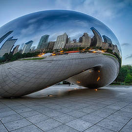 Lindley Johnson - Chicago - Cloudgate Reflections