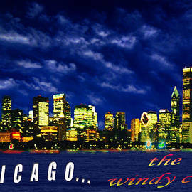 Mike Andre - Chicago at Night