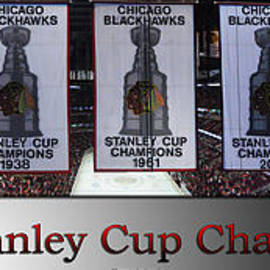 Thomas Woolworth - Chicago Blackhawks Our Stanley Cup Champions Banners SB