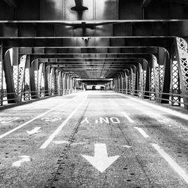 Paul Velgos - #chicago #bridge #blackandwhite