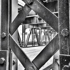 Paul Velgos - Chicago Bridge Iron In Black And White