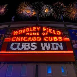 Steve Gadomski - Chicago Cubs Win Fireworks Night