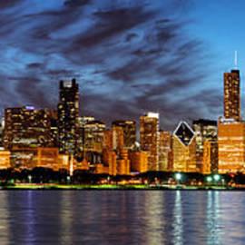 Matt Hammerstein - Chicago Evening Reflections 2014