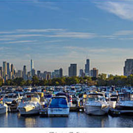 Twenty Two North Photography - Chicago from Diversey Harbor