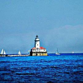 CJ Anderson - Chicago Harbor Lighthouse