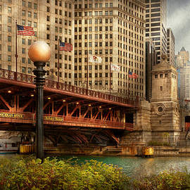 Mike Savad - Chicago IL - DuSable Bridge built in 1920