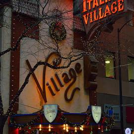 Thomas Woolworth - Chicago Italian Village Restaurant Signage