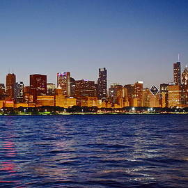 Frozen in Time Fine Art Photography - Chicago Lights