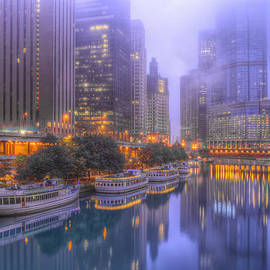 Lindley Johnson - Chicago River - Early Morning