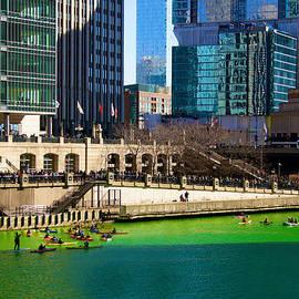 Sheela Ajith - The Chicago River on St. Patrick