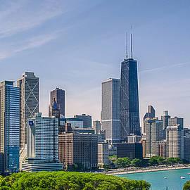 Julie Palencia - Chicago Skyline North View
