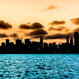 Semmick Photo - Chicago Skyline Silhouette
