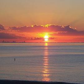 Pamela Clements - Chicago Sunset