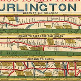 MotionAge Designs - Chicago to S F via Burlington Railroad 1879