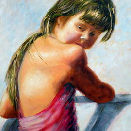 Uma Krishnamoorthy - Child turning to see