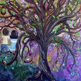 Eloise Schneider - Children Under the Fantasy Tree with Jackie Joyner-Kersee