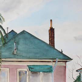 Asha Carolyn Young - Chimney Serenade at Dusk in Berkeley