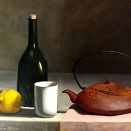 Lee Bianco - Chinese cast iron teapot