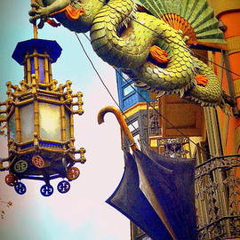 Toni Abdnour - Chinese Dragon Street Light