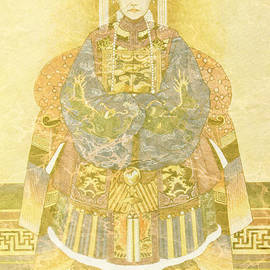 Sarah Vernon - Chinese Empress on Her Throne