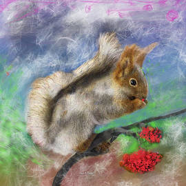 Angela A Stanton - Chippy the Squirrel of Pamela