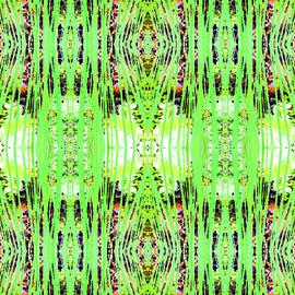 Barbara Moignard - Chive Abstract Green