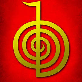 Cristina-Velina Ion - Cho Ku Rei - traditional Reiki Usui symbol