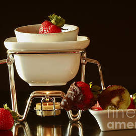 Inspired Nature Photography Fine Art Photography - Chocolate Heaven - Fondue Bliss