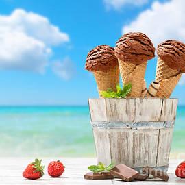 Amanda And Christopher Elwell - Chocolate Icecreams