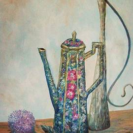 Rhonda Lee - Antique Chocolate Pot
