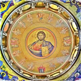 Stephen Stookey - Christ Pantocrator -- Church of the Holy Sepulchre