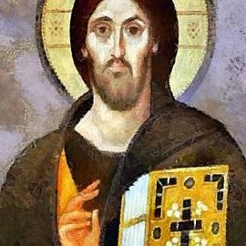 Dragica  Micki Fortuna - Christ Pantocrator of Sinai