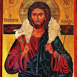 Ryszard Sleczka - Christ the Good Shepherd Icon
