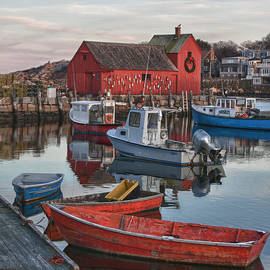 Jeff Folger - Christmas at Motif1 Rockport Massachusetts