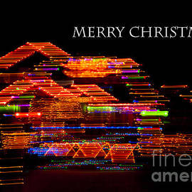 Jerry Cowart - Christmas Candy Cane Lights Fine Art Abstract Photography For The Holiday season