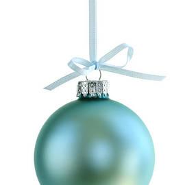 Elena Elisseeva - Christmas ornament on white