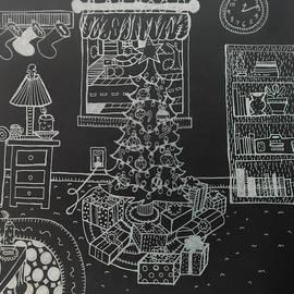Chelsea Geldean - Christmas Scene