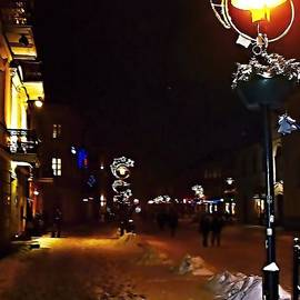 Rick Todaro - Christmas Time Snowstorm In Lublin