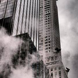 Miriam Danar - Chrysler Building with Gargoyles and Steam