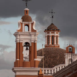 Robert Ford - Church Bells and Tower Puebla Mexico