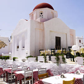 Brenda Kean - Church in Mykonos