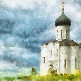 Yury Malkov - Church in Summer